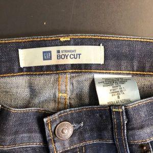 GAP dark wash Bootcut Jeans